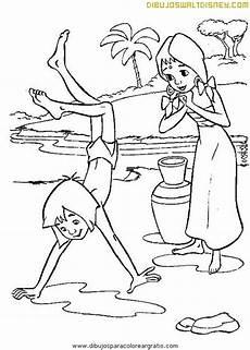 Quasimodo Malvorlagen Novel Mowgli Haciendo El Pino