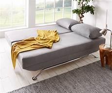 schlaf couch schlafcouch cady grau 200x90 cm schlaffunktion und