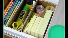 Schreibtisch I Schubladenorganisation Zettelwirtschaft