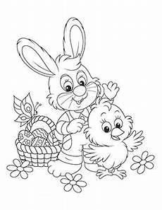Ausmalbilder Tiere Ostern Kostenlose Ausmalbilder Ostern Osterhase Mit Kueken