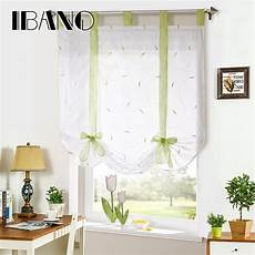Shade European Embroidery Style Tie Up Window