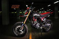Crf150l Modif Supermoto by Acuan Modifikasi Crf150l Bergaya Supermoto