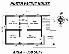 vastu plans for north facing house 34 x21 5 quot 2bhk north facing house plan as per vastu