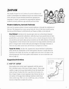 worksheets about japanese culture 19469 japanese culture and customs printable lesson plans ideas and lined stationery