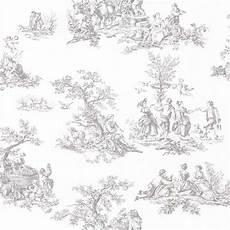 toile de jouy papier peint papier peint vinyle romantique gris castorama dibujo
