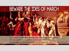 ides of march day