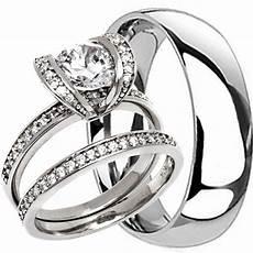 2 pc his hers titanium mens 6mm and womens milgrain wedding bridal band ring ebay