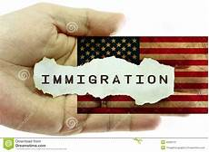 immigration concept stock image image of document