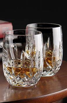 Waterford Lismore Rounded Whiskey Of Tumblers