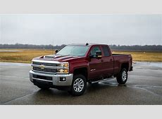 Chevrolet Silverado 2500HD 4x4 Diesel Double Cab 2018 Car
