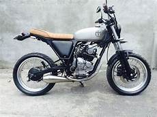 Scorpio Modif Trail by 85 Modifikasi Motor Yamaha Scorpio Menjadi Trail