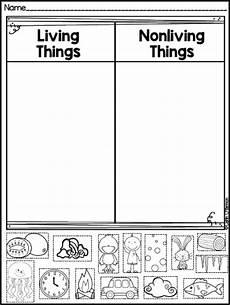 science worksheet living things 12282 freebie living and non living things sort science classroom science worksheets kindergarten