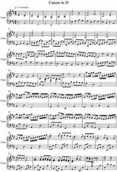 pachelbel canon in d piano version piano sheet music free pachelbel s canon piano sheet