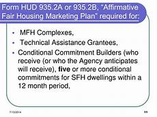 affirmative fair housing marketing plan ppt the fair housing act powerpoint presentation free