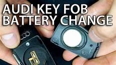 audi q3 2015 key battery how to change battery audi flip key fob remote a3 a4 a5