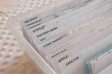 organized paper receipts simply organized