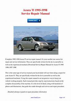 service repair manual free download 2001 acura tl parking system 1998 acura tl dispatch workshop manuals 1998 2001 honda acura integra service repair manual