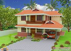 kerala model house plans with photos 2080 square feet kerala model house kerala home design