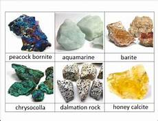 printable rocks and minerals classified cards geology