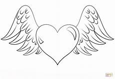with wings coloring page free printable coloring pages