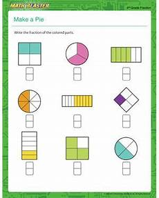 free printable rounding worksheets for 4th grade 8082 make a pie free printable math worksheet for 4th grade fractions worksheets printable math