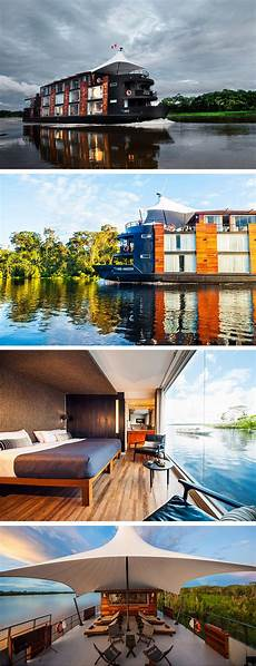 his floating hotel is styling up the travel company aqua expeditions collaborated with