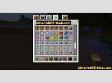 Windows 10 Edition UI Mod For Minecraft PE 1.5.3, 1.5.2, 1