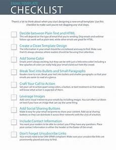 Design Checklist 9 essential steps to email template design checklist