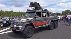 780 000 Brabus 700 G63 Amg 6x6 1 4 Mile Drag Racing