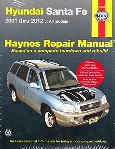 shop manual santa fe service repair hyundai haynes santafe book chilton ebay 2001 2012 hyundai santa fe haynes repair manual
