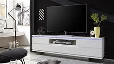 Tv Lowboard Weiß Matt - tv board balin lowboard wei 223 matt lackiert mit led