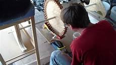 windrad generator eigenbau teil 6 bad im polyesterharz