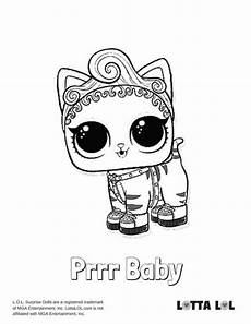 purrr baby lol coloring page lotta lol