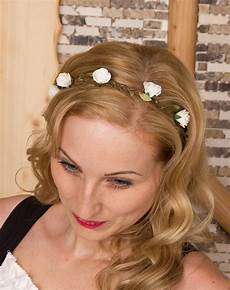 Frisur Haarband Blumen Friseur