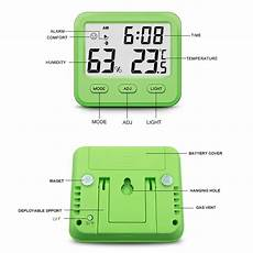 Bakeey Electronic Temperature Humidity Multifunctional Charging by Bakeey Electronic Digital Temperature Humidity Meter High