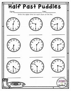 half past time worksheets for grade 1 3568 into creative teaching math tutor math y math lessons