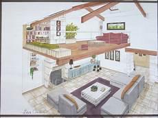faire plan maison salon mezzanine plans perspectives esquisses
