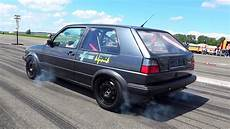 Golf 2 Turbo - vw golf mk2 vr6 turbo 900hp acceleration sounds