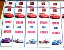 20 Disney Pixar CARS 2 Cardstock Bookmarks Birthday Party