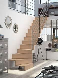 escalier 2 quart tournant lapeyre des id 233 es pour all 233 ger l espace escalier renover