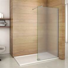 Walk In Dusche Milchglas - 10mm nano glas walk in dusche milchglas duschabtrennung