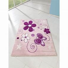 kinderteppich schmetterling kinderteppich schmetterlinge rosa 170 x 120 cm relita