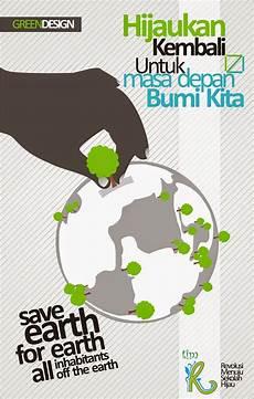 Contoh Desain Poster Lingkungan Paling Kreatif