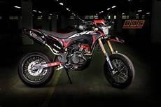 Modifikasi Honda Crf 150 by Honda Crf150 Supermoto Lebih Keren Dari Trail