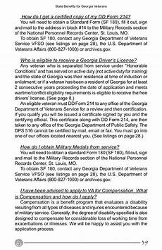 benefits from the state of for veterans