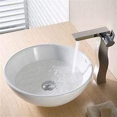 Kraus Ceramic Vessel Bathroom Sink Reviews Wayfair