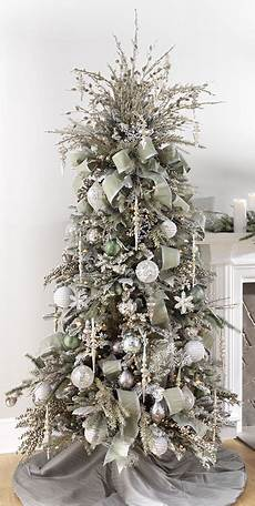 White Decorations For Tree by 2017 Gold Silver Tree Inspiration Trendy