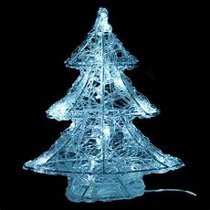 sapin lumineux blanc froid 16 led silhouette lumineuse