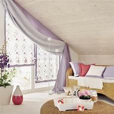 Gardinen Für Schräge Fenster - 1001 ideen f 252 r dachfenster gardinen und vorh 228 nge