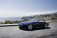 What A Vision Mercedes Maybach Vision 6 Cabriolet Is A